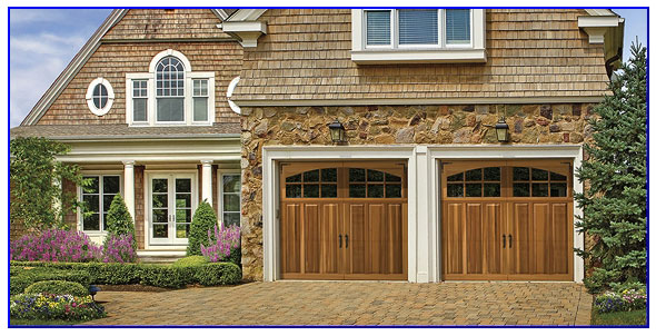 premium wood garage door in Vallejo ca