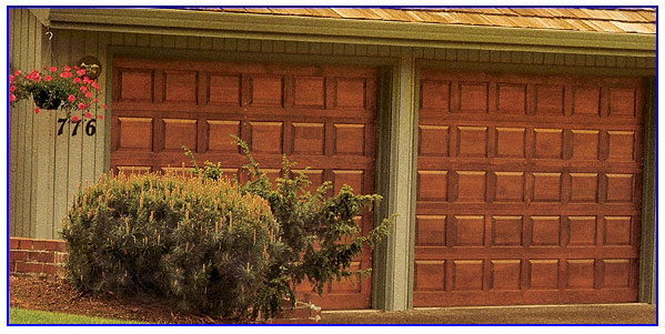 classic insulated garage door in Vallejo