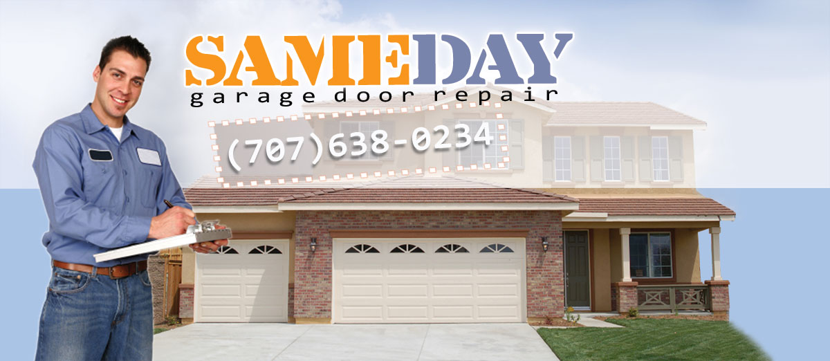 garage door repair in Vallejo CA